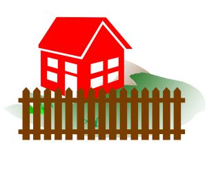 Grundstück bebaut
