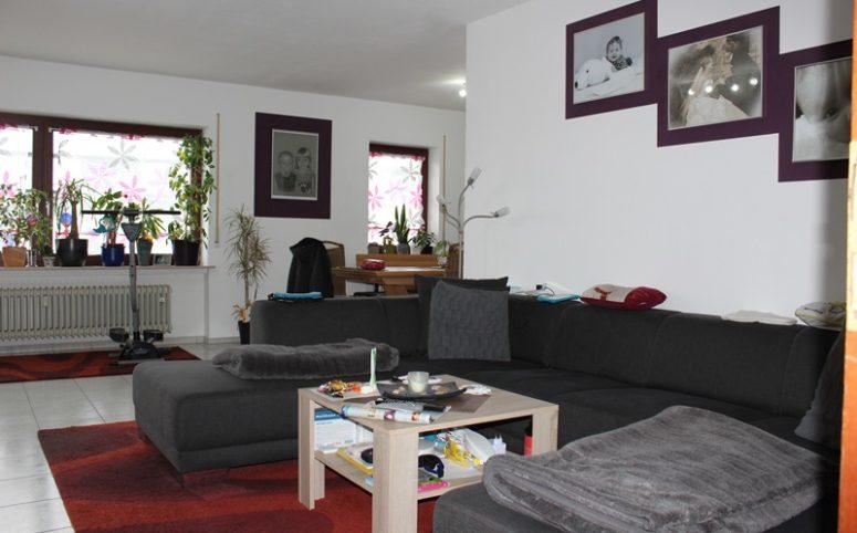VERMIETET: 4-Zimmer-Wohnung mit Balkon und Garten ...
